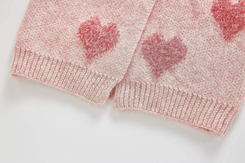 Sling Love Pattern Button Morbido e Confortevole Polsino filettato Girocollo Baby Coat Fiomva Abbigliamento Neonato Vestito Cardigan 1-3 Anni