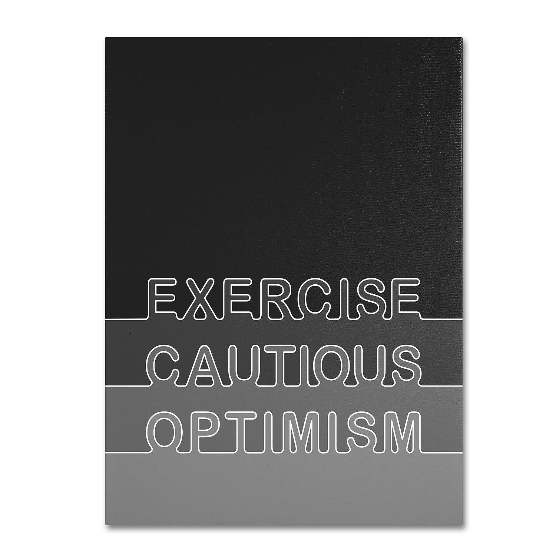 Trademark Fine Art Cautious Optimism Artwork by Megan Romo, 18x24-Inch