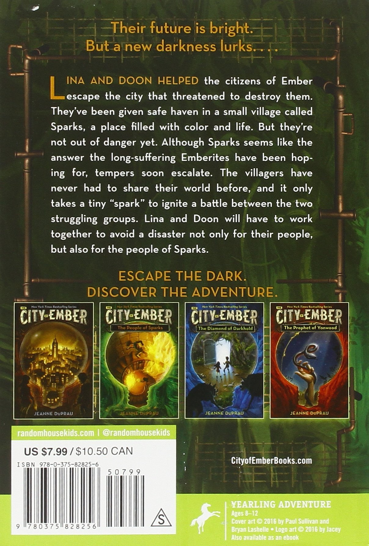 Amazon: The People Of Sparks (the City Of Ember) (9780375828256):  Jeanne Duprau: Books