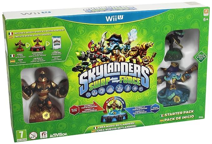 Skylanders: Swap Force - Starter Pack: nintendo wii u ...