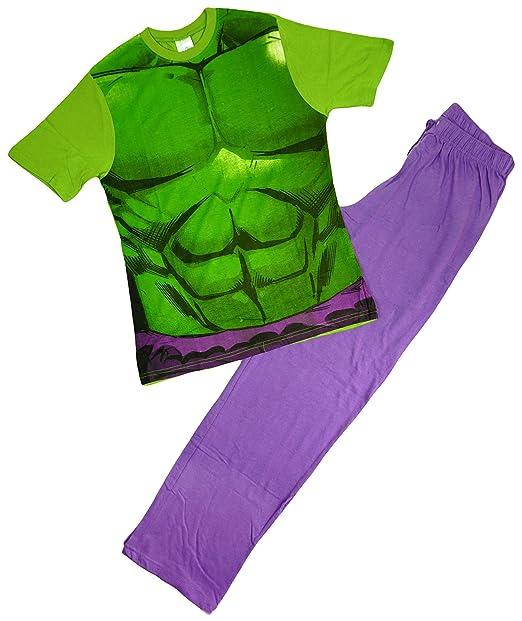 Marvel - Pijama - para hombre Verde verde Medium