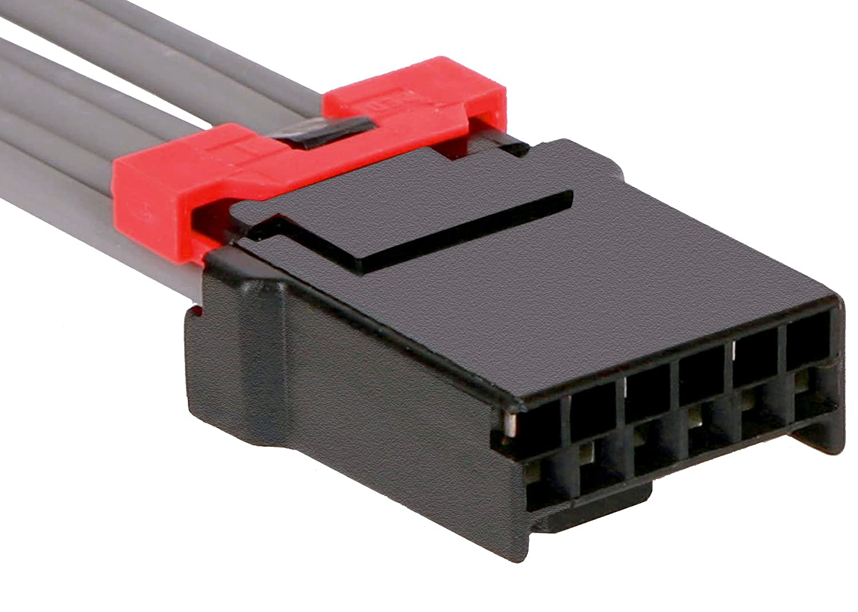ACDelco PT276 GM Original Equipment 6-Way Female Black Multi-Purpose Pigtail