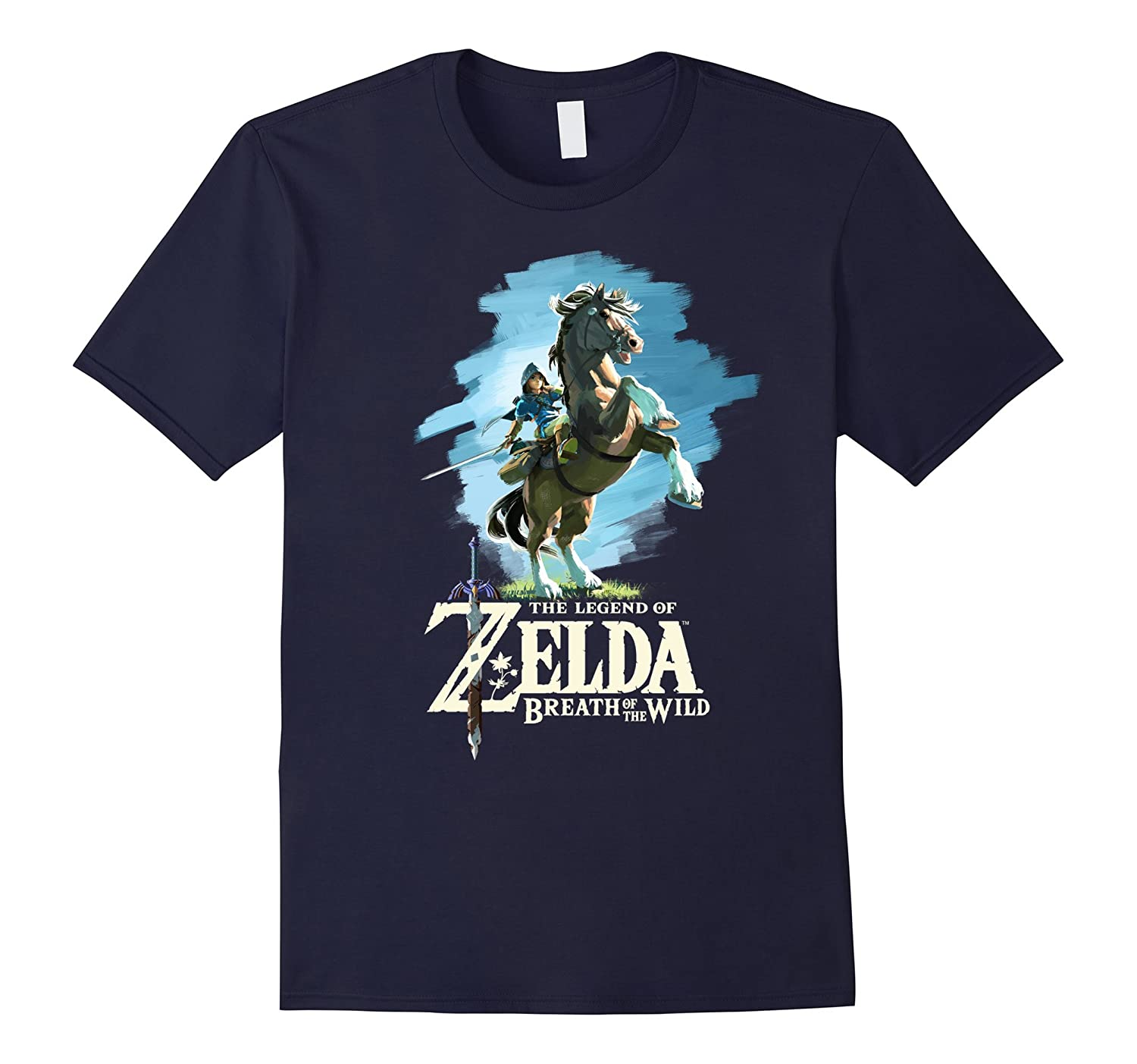 Womens Nintendo Zelda Painted T Shirt-Awarplus