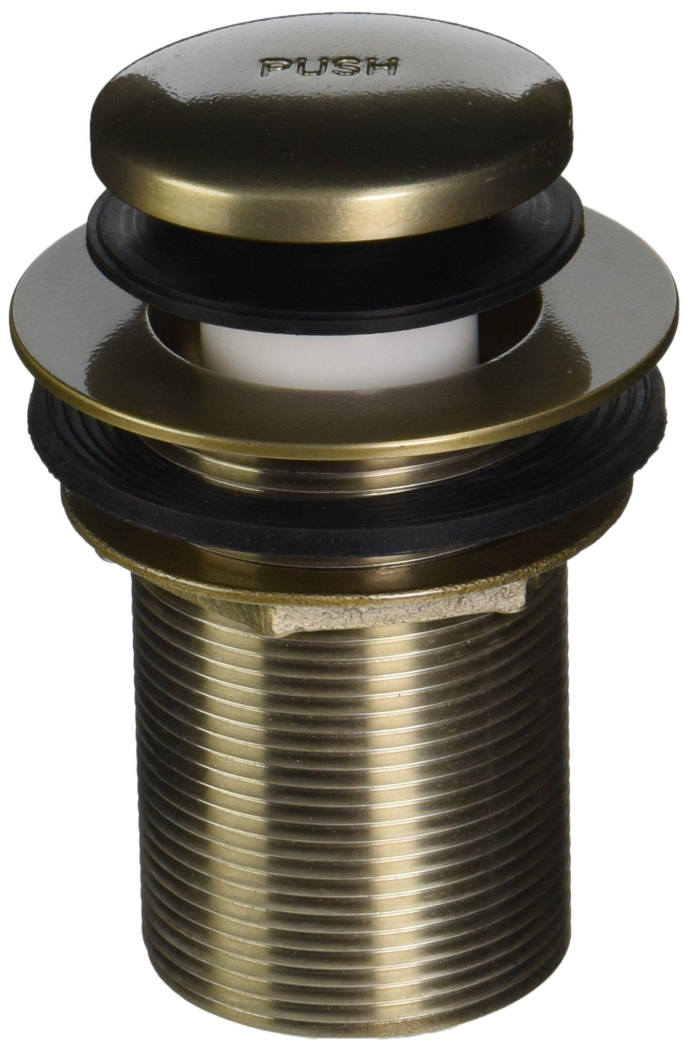 Jaclo 529-75-BU Toe Control Drain Strainer, Bronze Umber
