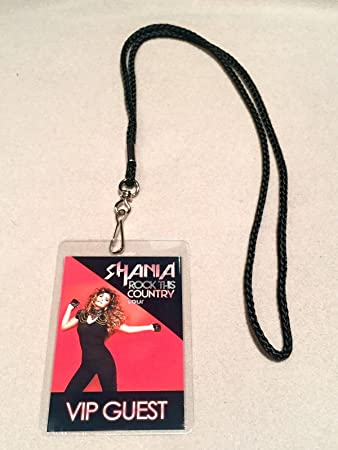 Amazon shania twain rock this country farewell tour vip all shania twain rock this country farewell tour vip all access backstage meet greet package pass m4hsunfo