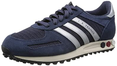 new product fa318 9bbb3 Blau (NEW NAVY  SILVER  RUBY)adidas Originals LA Trainer 75975, Herren