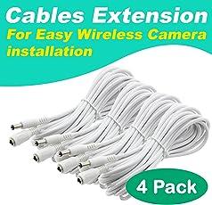 Amazon Com Surveillance Camera Cables Electronics