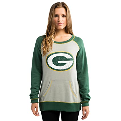 dc24d518a8b Majestic Green Bay Packers Women s NFL O.T. Queen French Terry Sweatshirt