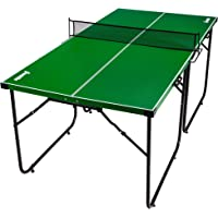 Franklin Sports Mid Size Table Tennis Table - Ideal for Smaller Spaces - Space Saving Design