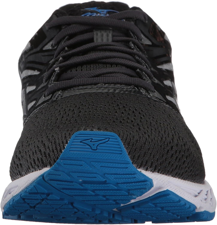 Mizuno Running Men's Mizuno Wave Shadow Running-Shoes Iron Gate/Silver/Blue Jewel
