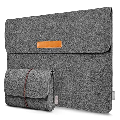 "Inateck 13-13.3 Inch Laptop Sleeve Case Bag Compatible MacBook Pro 2012-2015 Retina/MacBook Air 2010-2017/12.9"" iPad Pro"