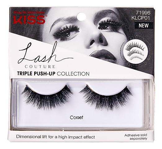 ca4b2818d70 Amazon.com: Kiss Lash Couture Triple Push-Up Corset (3 Pack): Beauty