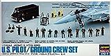Hasegawa 35007 1/72 U.S. Pilot/Ground Crew Set