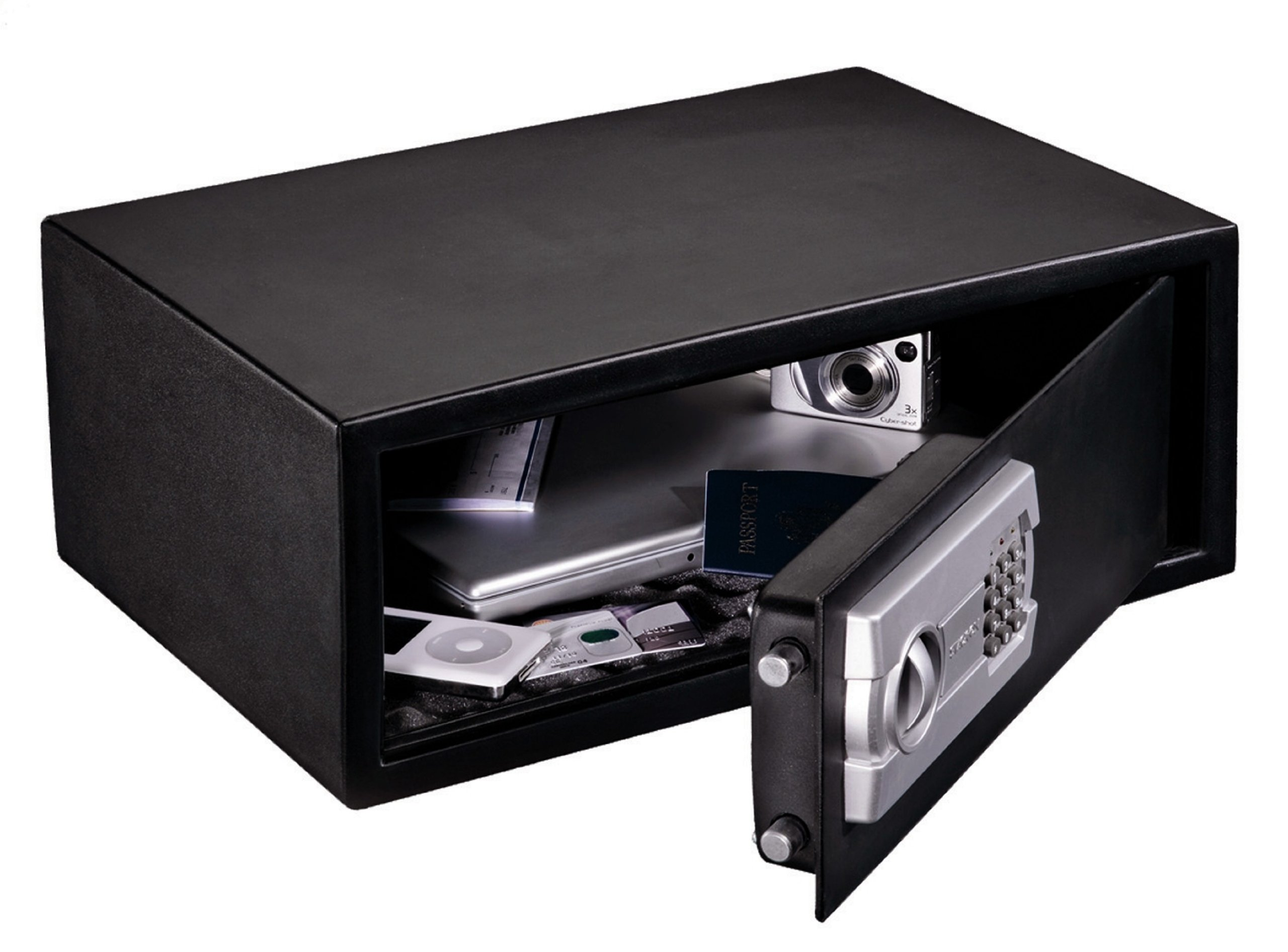 Stack-On PS-508 Extra Wide Strong Box Safe with Electronic Lock by Stack-On