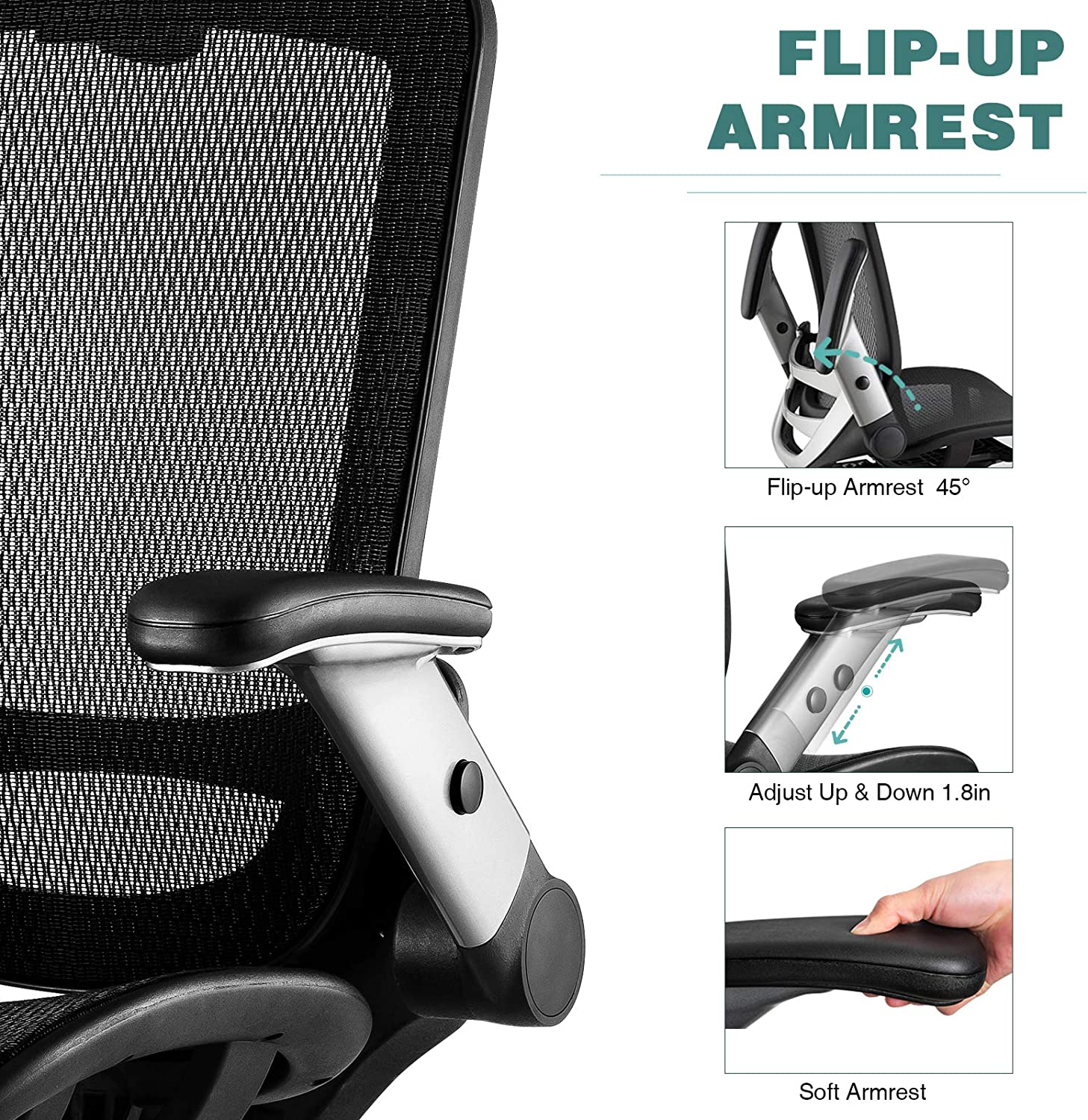 81yDJIrX14L. AC SL1500 - What Are The Best Office Chair For Lower Back Pain Under $300 - ChairPicks