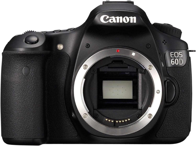 Canon EOS 60D - Cámara digital SLR (18 megapíxeles, 7,7 cm (3 ...