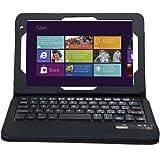IVSO Custodia Protettiva con Tastiera QWERTY Bluetooth per Toshiba Encore 2 8-Inch Tablet (Nero)