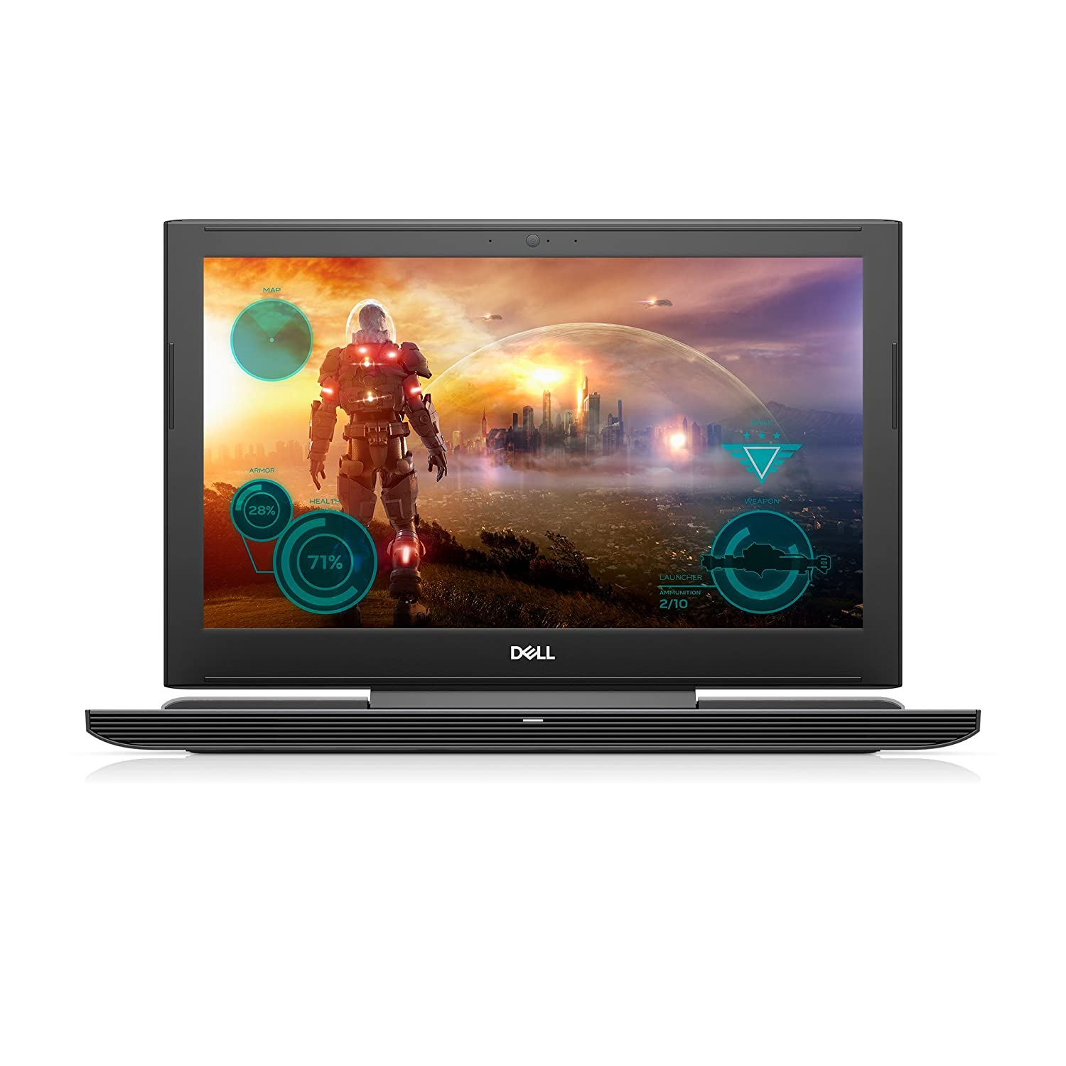 Dell i7577-5241BLK-PUS Inspiron LED Display Gaming Laptop – 7th Gen Intel Core i5, GTX 1060 6GB Graphics, 8GB Memory, 128GB SSD 1TB HDD, 15.6in, Matte Black Renewed