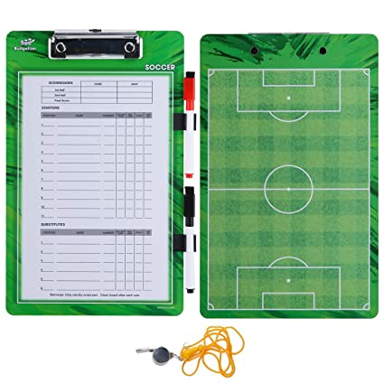 Amazon.com: Coaches Clipboard Dry Erase Board - Tabla de ...