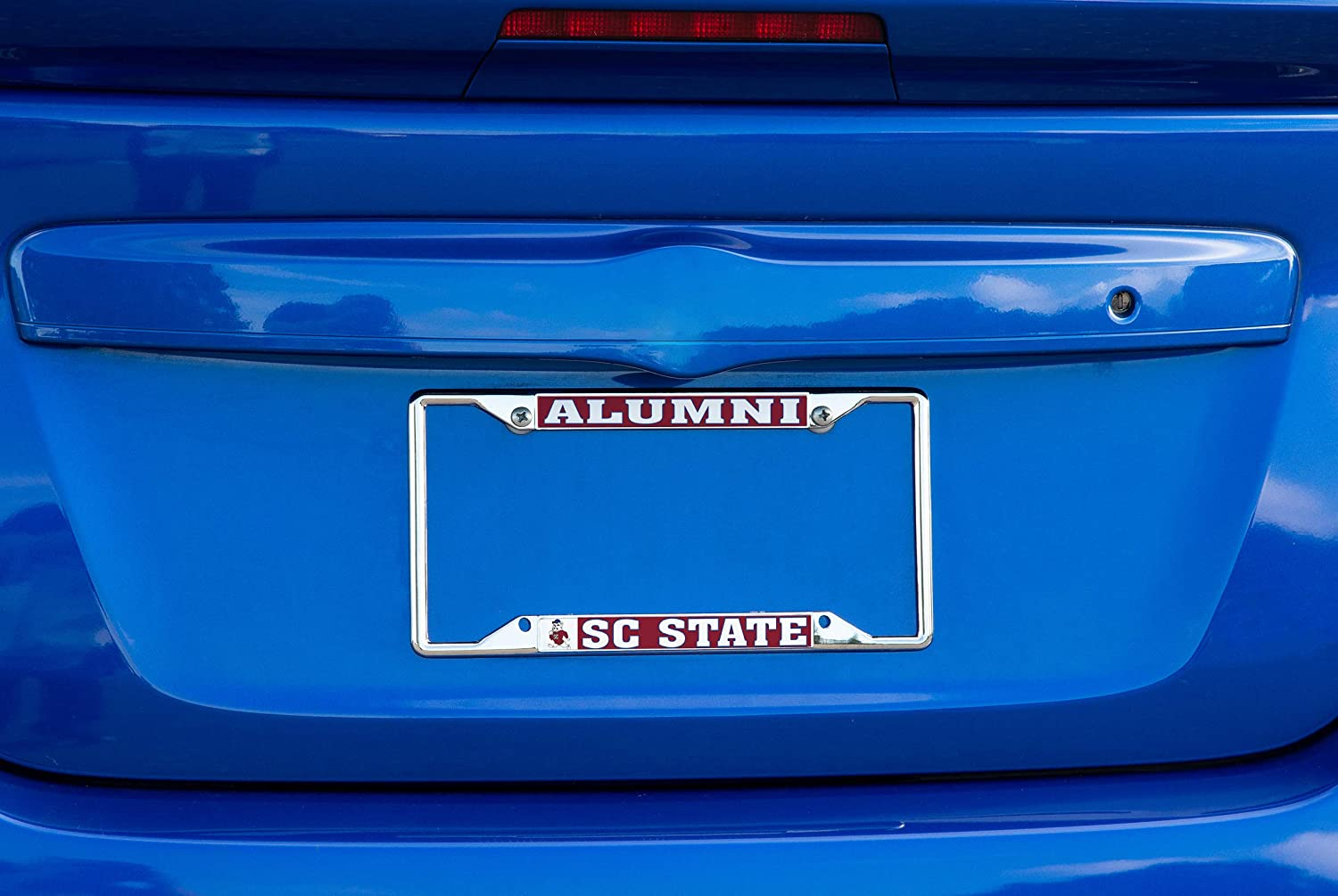 Desert Cactus South Carolina State University SCSU Bulldogs NCAA Metal License Plate Frame for Front Back of Car Officially Licensed Alumni