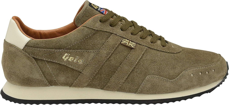 Gola Track Suede 317 Men's Shoe Khaki