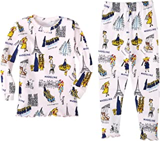 product image for Books to Bed Girls' Madeline Cotton Pajamas (5)