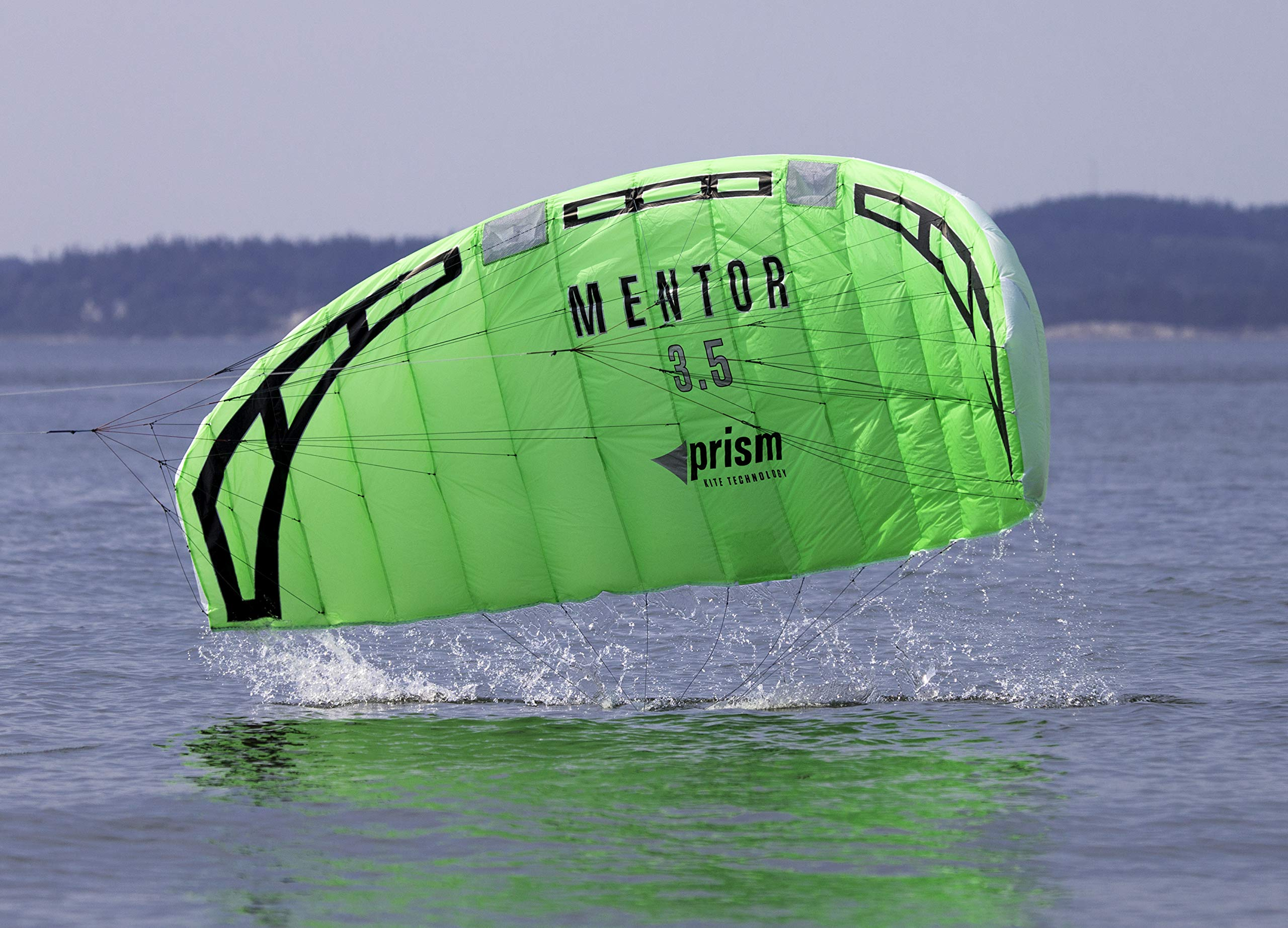 Prism Mentor 2.5m Water-relaunchable Three-line Power Kite Ready to Fly with Control bar, Ground Stake and Quick Release Safety Leash by Prism Kite Technology (Image #5)