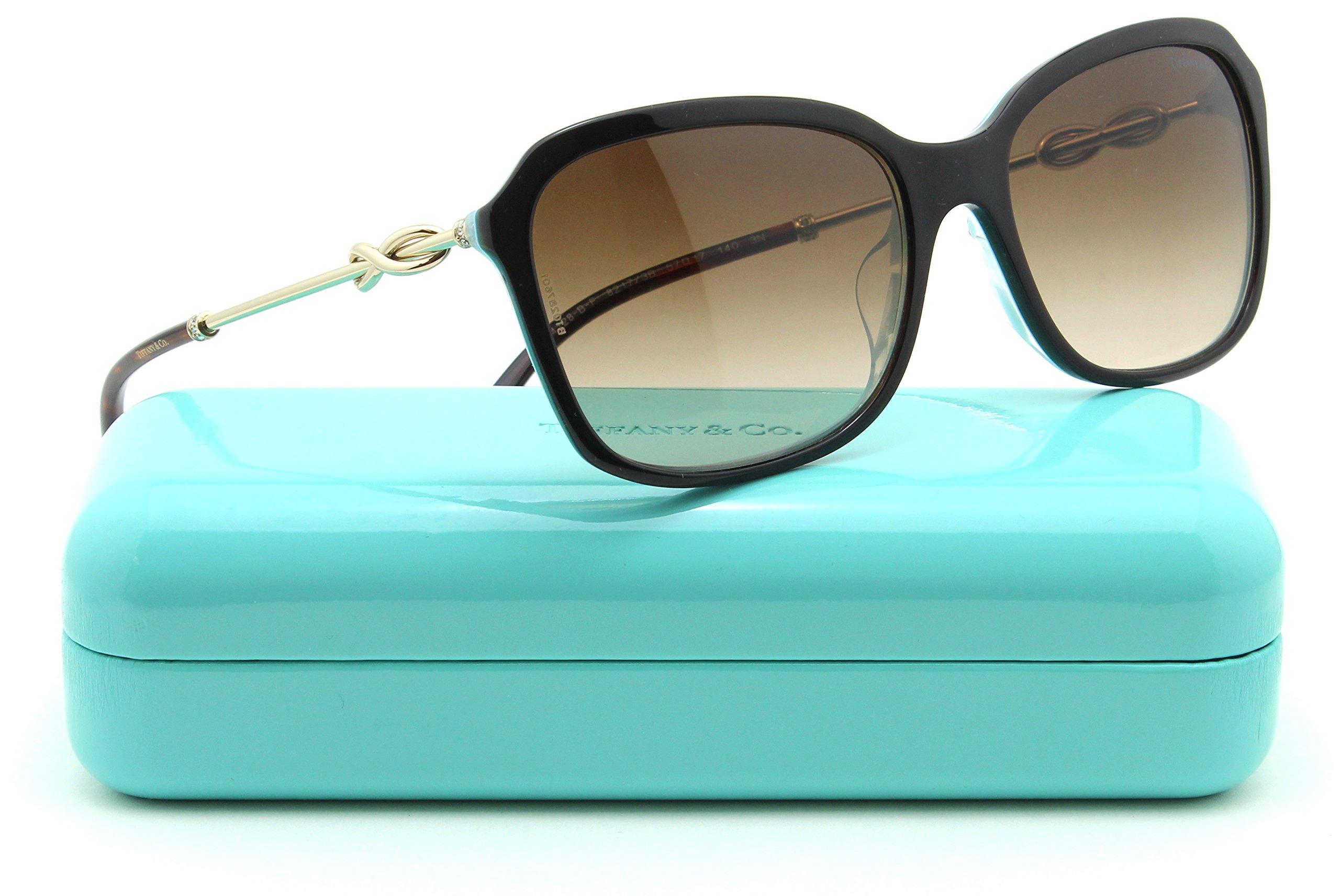 Tiffany & Co. TF 4128-BF Womens Gradient Sunglasses Asian Fit 82173B