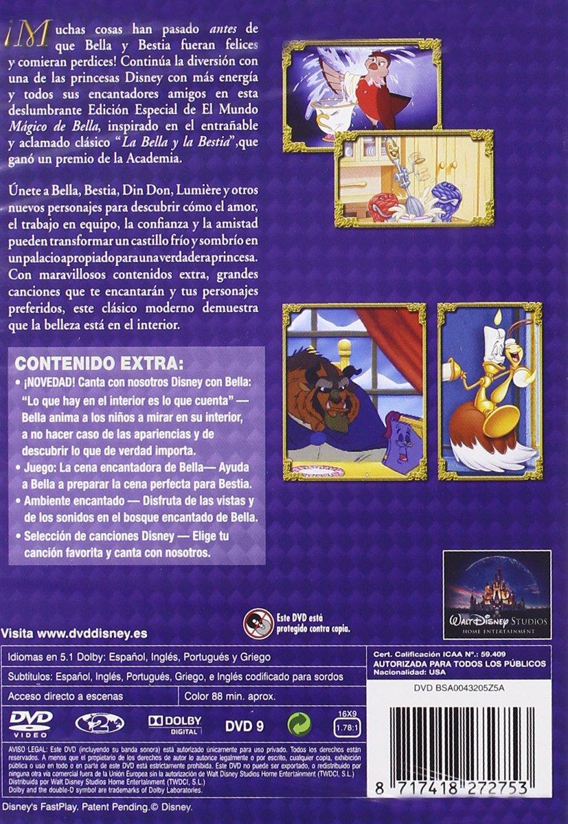 La bella y bestia (Edición coleccionistas) [DVD]: Amazon.es: Varios ...