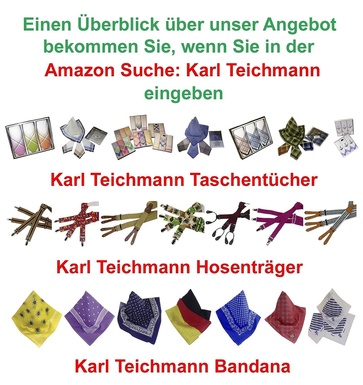 verschiedene Motive Karl Teichmann Hochwertige J/äger-Taschent/ücher