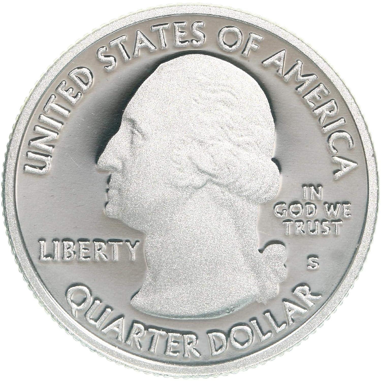 2011 S SILVER GEM PROOF VICKSBURG AMERICA THE BEAUTIFUL QUARTER 90/% SILVER
