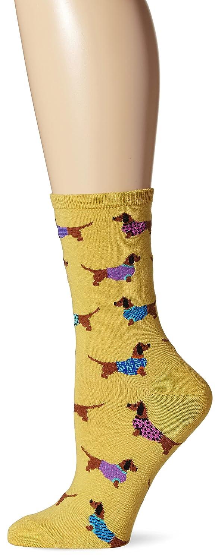 - Amazon.com: Socksmith Women's Yellow Haute Dog Crew Socks: Clothing