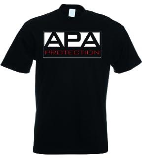 0c1400c91 APA Protection Agency Ron Simmons JBL Mens T-Shirt: Amazon.co.uk ...