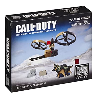 Mega Bloks Call of Duty Vulture Attack Building Set: Toys & Games
