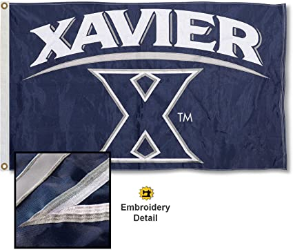 College Flags and Banners Co Xavier Musketeers Garden Flag