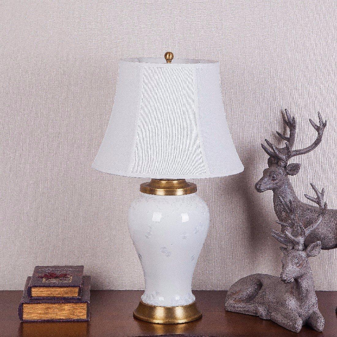 YFF@ILU im amerikanischen Stil der modernen Chinesischen alle - Kupfer keramische Lampe, Wohnzimmer Schlafzimmer Studie Dekoration, neues Heim Hochzeit Dekoration