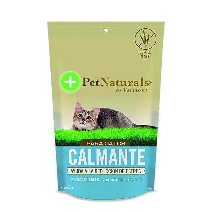 Amazon.com : Pet Naturals Calming for Cats (21 count) 1.11oz ...