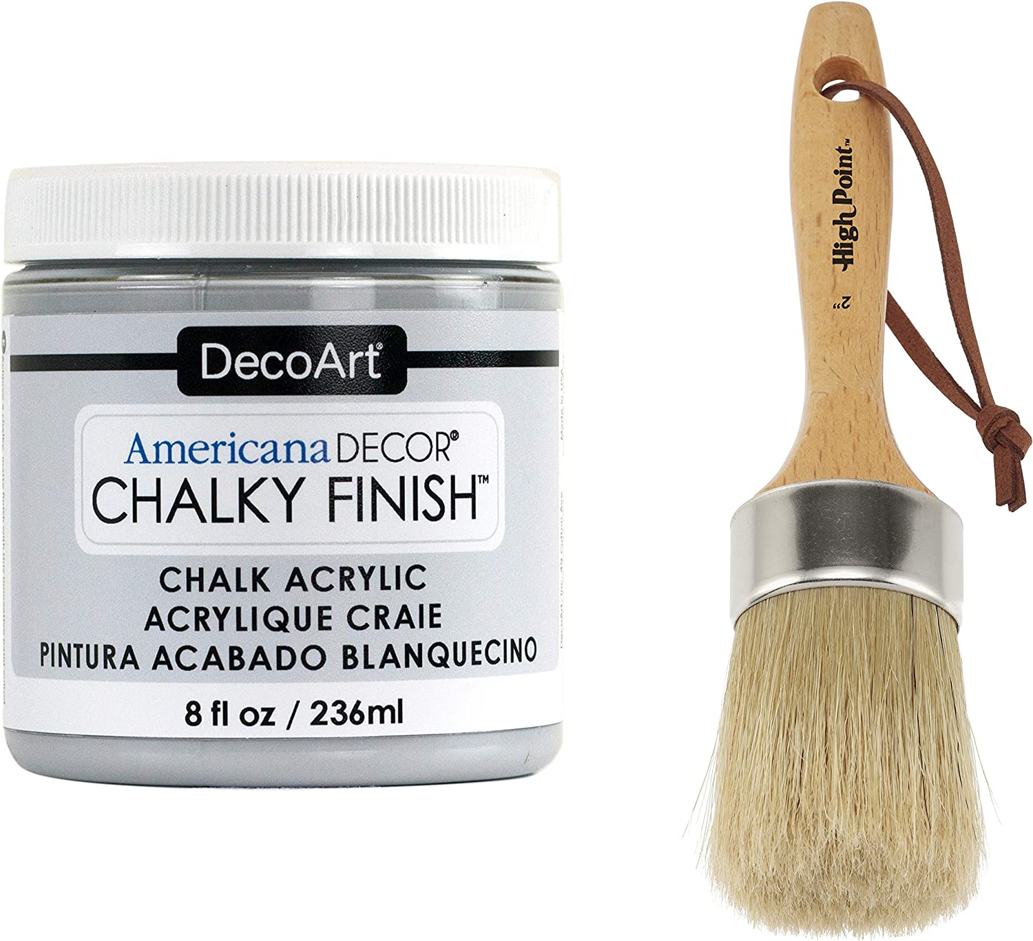 DecoArt Americana Décor Chalky Flat Finish Paint and 2