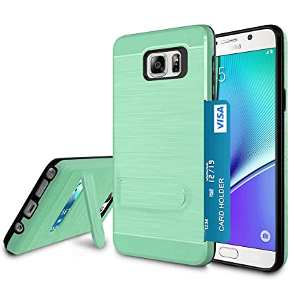 Amazon.com: Galaxy Note 5 Funda, Note 5 Cubierta titular de ...