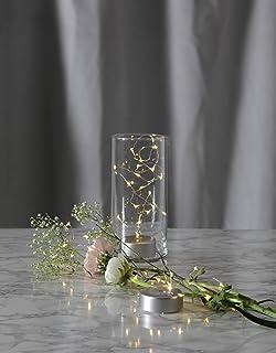 Dekorative Biegsame Dew Drops / LED Draht   Lichterkette Mit 40  Brennstellen / 40 Warm Weissen