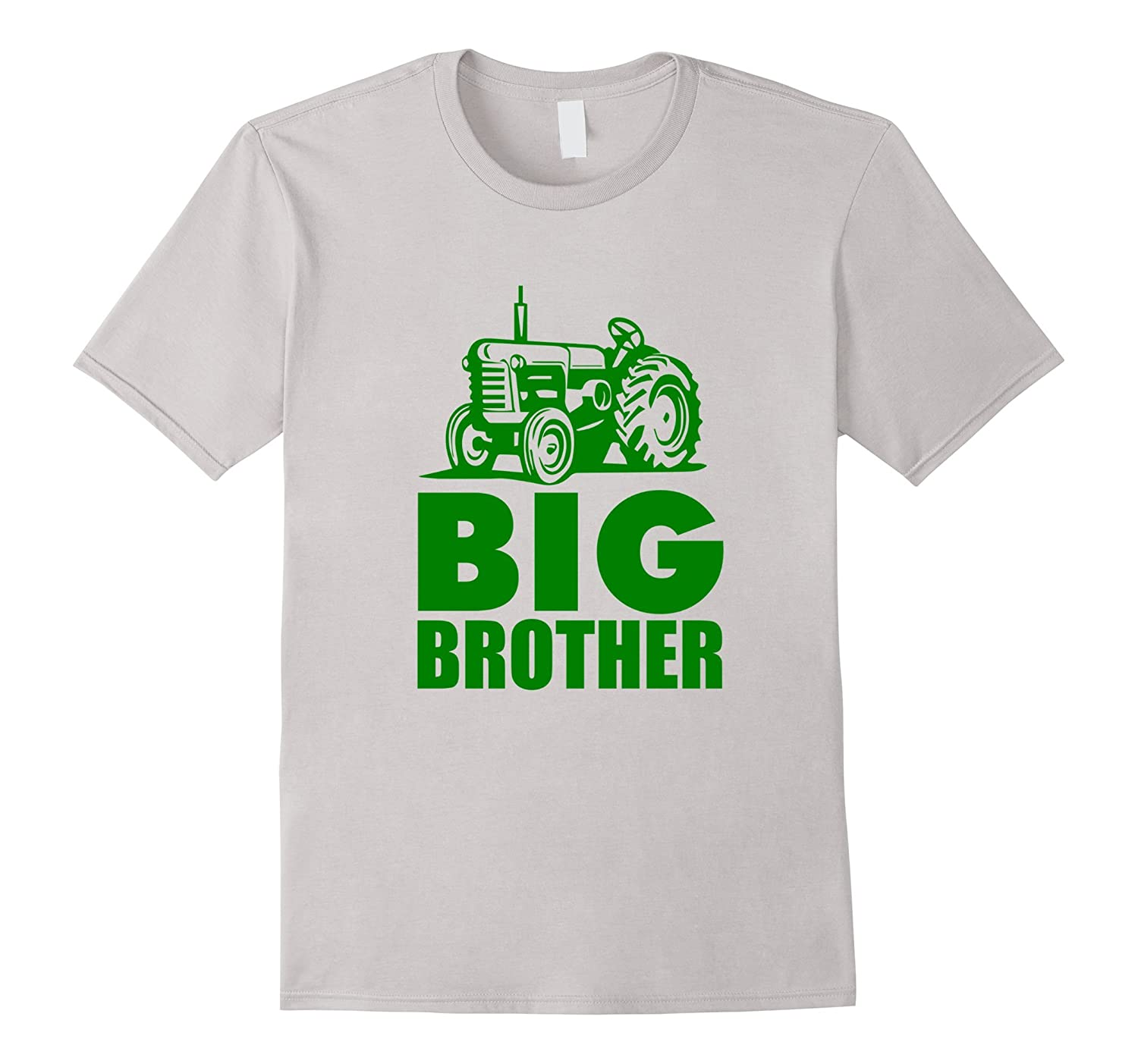 Big Brother Green Tractor Farm T-Shirt