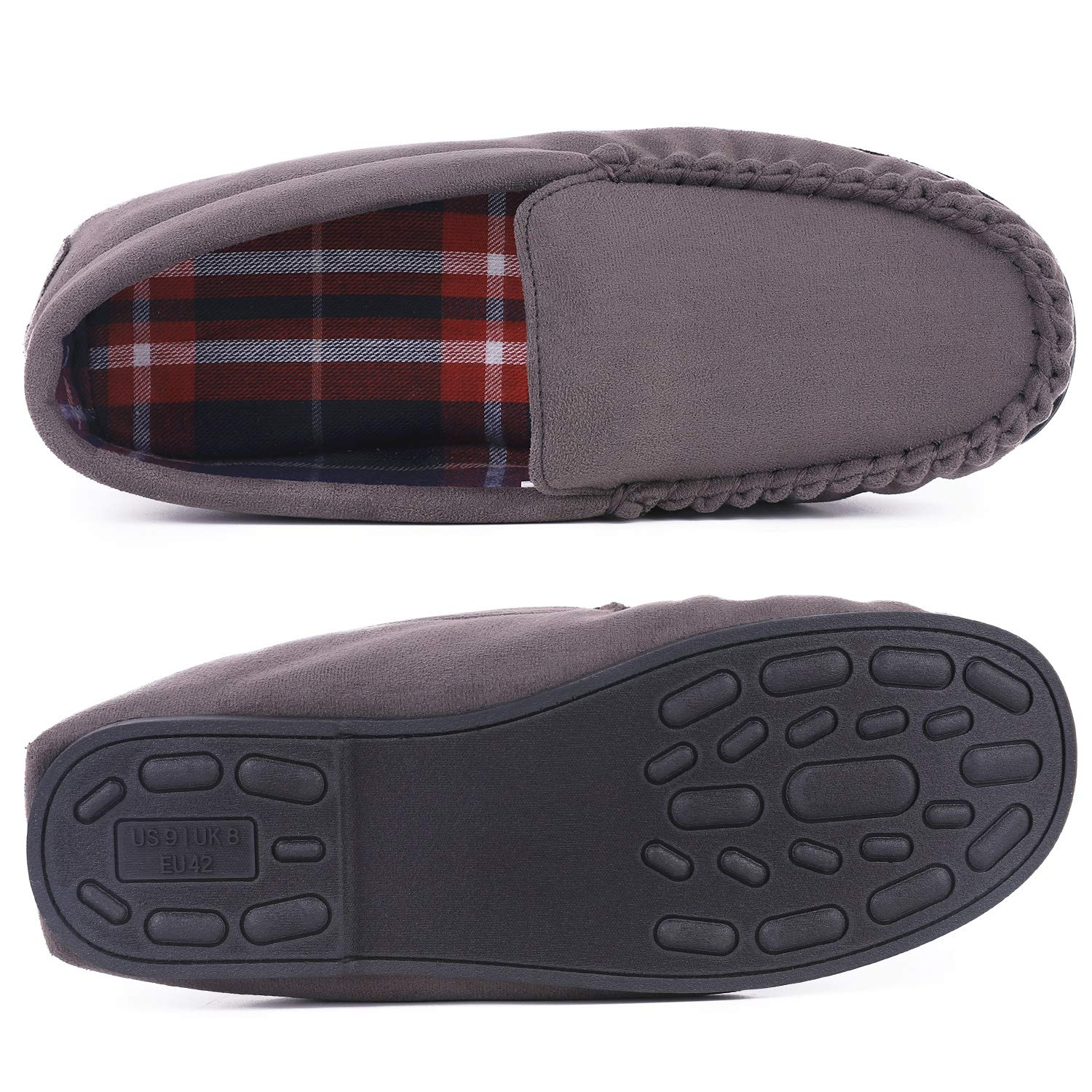 Amazon.com: Mocasines para hombre, ligeros, transpirables ...