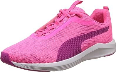 puma rose femme chaussure
