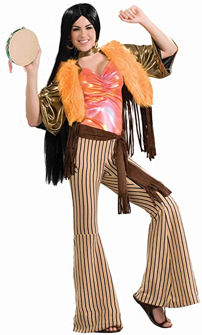 70s Costumes: Disco Costumes, Hippie Outfits Forum 60s Revolution Groovy Gal Costume $41.99 AT vintagedancer.com