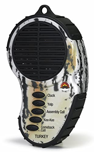 Cass Creek - Ergo Call - Turkey Call - CC969 - Handheld Electronic Game Call