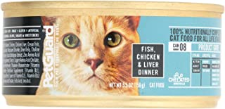 product image for Pet Guard Fish Chicken and Liver Dinner Canned Cat Food, 5.5 Ounce -- 24 per case.