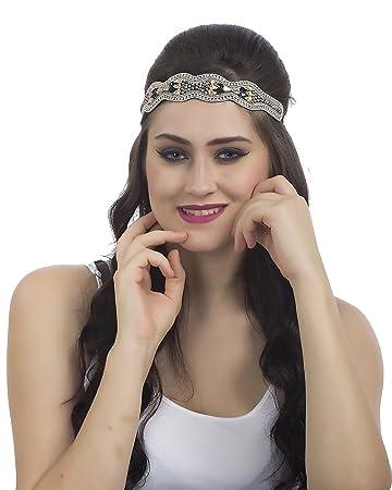 Amazon.com : Bebo New trendy handmade headbands best workmanship, look and beautiful design : Beauty
