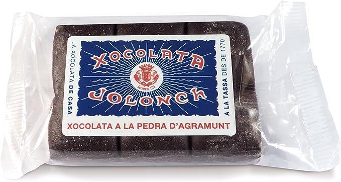 Chocolate a la piedra 90 gr Jolonch: Amazon.es: Alimentación y bebidas