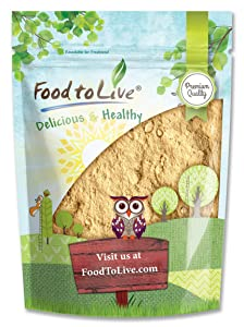 Yellow Maca Powder, 8 Ounces - Non-GMO and Raw Ground Maca Root, Vegan, Kosher, Keto, Non-Gelatinized, Bulk, Rich in Vitamin C