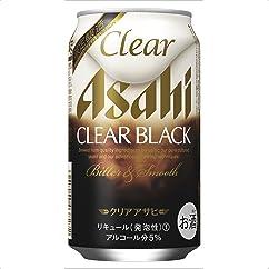 【新ジャンル(第3のビール)の新商品】クリアアサヒ クリアブラック 350ml×24本